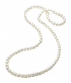 Endless Freshwater Pearl Necklace