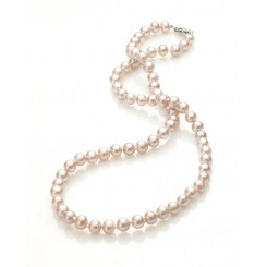 Freshwater Pearl Necklace Pink